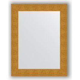 Зеркало в багетной раме поворотное Evoform Definite 70x90 см, чеканка золотая 90 мм (BY 3182)