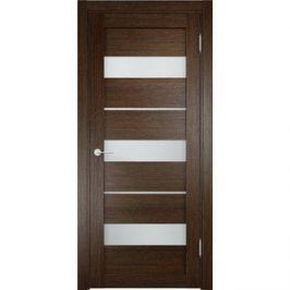 Дверь ELDORF Мюнхен-2 остекленная 1900х550 экошпон Дуб табак