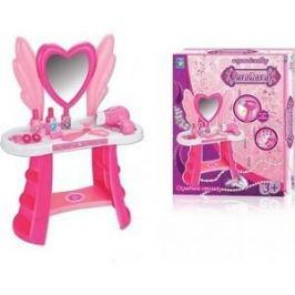 Игровой набор 1Toy туалетный столик большое сердце 10 предметов (Т59210)
