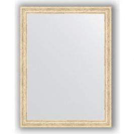 Зеркало в багетной раме поворотное Evoform Definite 63x83 см, слоновая кость 51 мм (BY 1010)