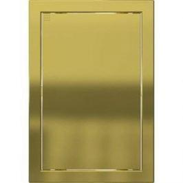 Люк-дверца EVECS ревизионная 168х218 с фланцем 146х196 ABS декоративный (Л1520 Gold)