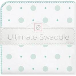 Фланелевая пеленка SwaddleDesigns для новорожденного SC Big Dot Lt Dot (SD-492SC)