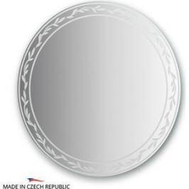 Зеркало FBS Artistica D80 см, с орнаментом - ива, вертикальное или горизонтальное (CZ 0725)