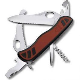 Нож перочинный Victorinox Dual Pro One Hand 0.8371.MWC (111мм с фиксатором 10 функций)