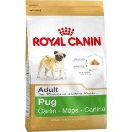 Сухой корм Royal Canin Adult Pug для собак от 10 месяцев породы Мопс 1,5кг (173015)