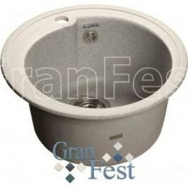 Мойка кухонная GranFest гранит D450 (Gf-R450 серая)
