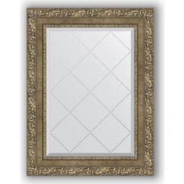 Зеркало с гравировкой поворотное Evoform Exclusive-G 55x72 см, в багетной раме - виньетка античная латунь 85 мм (BY 4016)