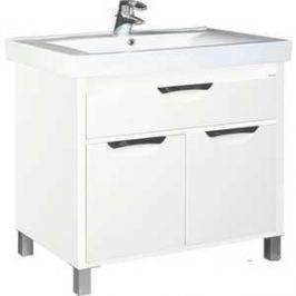 Комплект мебели Aquanet Гретта 90 У цвет белый глянец