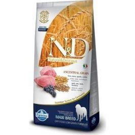 Сухой корм Farmina N&D Adult Dog Maxi LG Lamb & Blueberry низкозерновой с ягненком и черникой для собак крупных пород 12кг (22141)