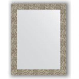 Зеркало в багетной раме поворотное Evoform Definite 66x86 см, соты титан 70 мм (BY 3180)