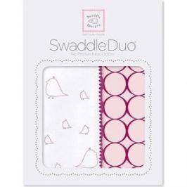 Набор пеленок SwaddleDesigns Swaddle Duo PK Big Chickies (SD-188VB)