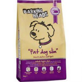 Сухой корм BARKING HEADS Adult Dog Fat Dog Slim Light Diet with Chicken & Rice с курицей и рисом худеющий толстячок для собак 2кг (0193/18128)