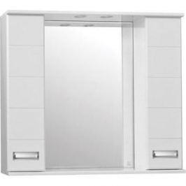 Зеркальный шкаф Style line Ирис 90 со светом (4603720984894)