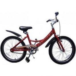 Детский двухколесный велосипед Jaguar MS-A202 Alu красный
