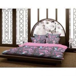 Комплект постельного белья Волшебная ночь 1,5 сп, сатин, Магнолия с наволочками 50x70 (188412)