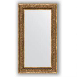 Зеркало в багетной раме поворотное Evoform Definite 63x113 см, вензель бронзовый 101 мм (BY 3095)
