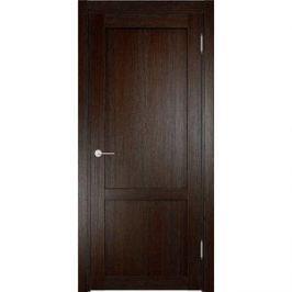 Дверь ELDORF Баден-3 глухая 2000х600 экошпон Дуб темный