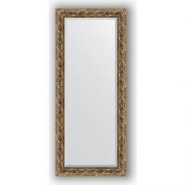 Зеркало с фацетом в багетной раме поворотное Evoform Exclusive 66x156 см, фреска 84 мм (BY 1289)