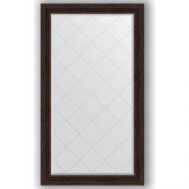 Зеркало с гравировкой поворотное Evoform Exclusive-G 99x174 см, в багетной раме - темный прованс 99 мм (BY 4420)