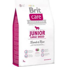 Сухой корм Brit Care Junior Large Breed Lamb & Rice гипоаллергенный с ягненком и рисом для молодых собак крупных пород 3кг (132704)