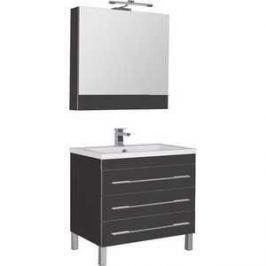 Комплект мебели Aquanet Верона напольная 90 цвет черный