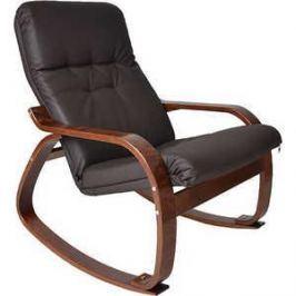 Кресло-качалка Мебель Импэкс Сайма МИ каркас венге, эко кожа, цвет