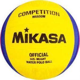 Мяч для водного поло Mikasa W6600W, размер мужской, цвет желто-сине-розовый