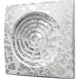 Вентилятор DiCiTi осевой вытяжной с обратным клапаном D 125 декоративный (AURA 5C white design)