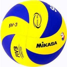 Мяч волейбольный Mikasa SV-3, размер 5, цвет сине-желтый