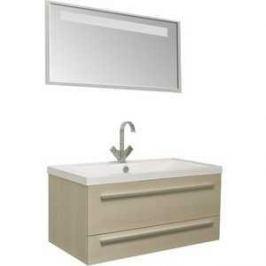 Комплект мебели Aquanet Нота 90 алюминий цвет светлый дуб
