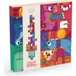 Krooom Игрушки из картона: набор для путешествий Кроличья пекарня (k-340)