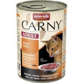 Консервы Animonda CARNY Adult с говядиной и курицей для кошек 400г (83719)