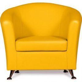 Кресло СМК Бонн 040 1х к/з Фалкон 12 GL желтый