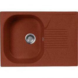 Кухонная мойка AquaGranitEx M-70 690х490 красный марс (M-70 (334))