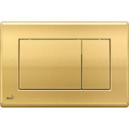 Клавиша смыва AlcaPlast золотая (M275)