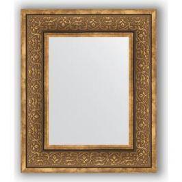 Зеркало в багетной раме Evoform Definite 49x59 см, вензель бронзовый 101 мм (BY 3031)