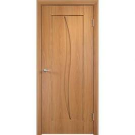 Дверь VERDA Стефани глухая 1900х600 ПВХ Миланский орех