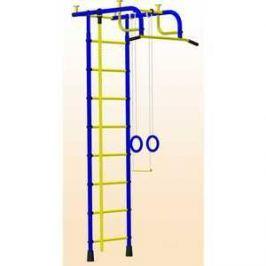 Детский спортивный комплекс Пионер 1М (синий/жёлтый)