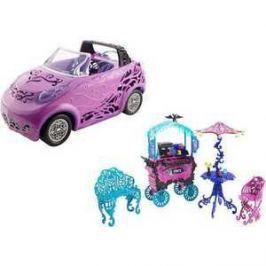 Школа Монстров. Monster High Набор автомобиль или кафе Y0425