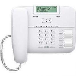 Проводной телефон Gigaset DA710 White