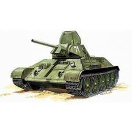Звезда Модель Подарочный набор Советский танк Т - 34/76 образца 1942 г. 3535 П