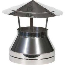 Оголовок Феникс диаметр 120/200 мм сталь AISI 430 (0.5 нерж.мат./0.5 нерж.зерк.)(00775)