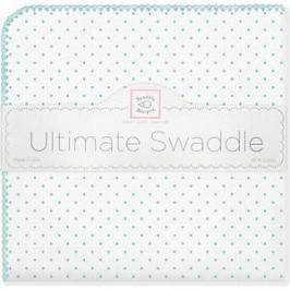 Фланелевая пеленка SwaddleDesigns для новорожденного SeaCrystal Dot (SD-001SC)