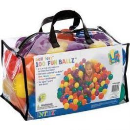 Мячи Intex 6.5см 100шт для игровых центров 49602
