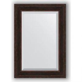 Зеркало с фацетом в багетной раме поворотное Evoform Exclusive 69x99 см, темный прованс 99 мм (BY 3447)