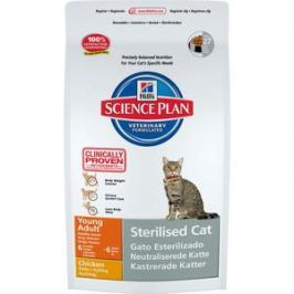 Сухой корм Hill's Science Plan Sterilised Cat Young Adult with Chicken с курицей для стерилизованных кошек от 6 мес до 6 лет 1,5кг (9351)