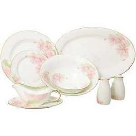 Столовый сервиз Emerald Розовые цветы из 27-ми предметов E5-HV004011/27-AL