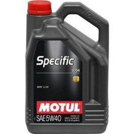 Моторное масло MOTUL Specific LL-04 BMW 5w-40 5 л