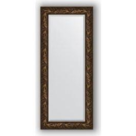Зеркало с фацетом в багетной раме поворотное Evoform Exclusive 64x149 см, византия бронза 99 мм (BY 3547)