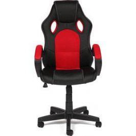 Кресло TetChair RACER GT кож/зам + ткань черный/красный 36-6/08